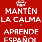 aprender español